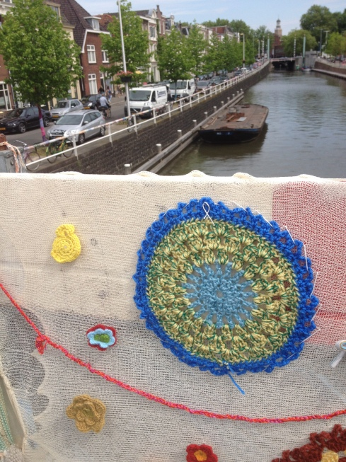 Crocheted canal