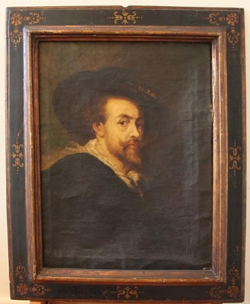 Untitled - Rubens copy, before treatment