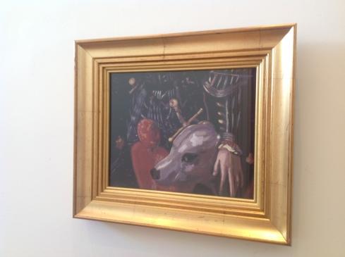Cash Brown Bombast # 5 after Bronzino , 2010 31 x 36 cm inc frame