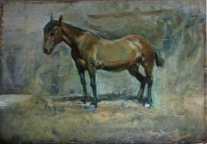 oil painting after treatment